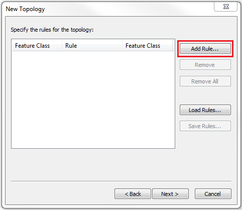 This is the New Topology dialog box.