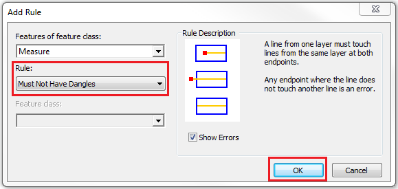 This is the Add Rule dialog box.