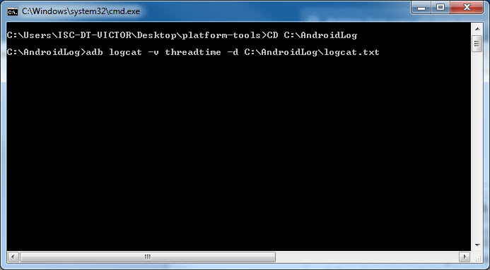 How To: Export a crash log (logcat) from an Android device