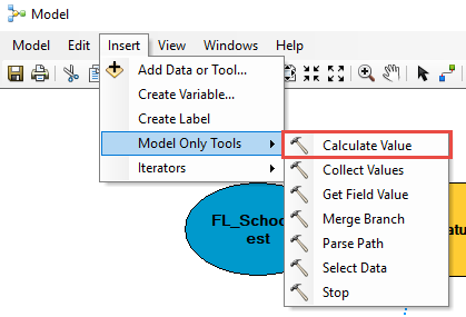 Calculate Value function in ModelBuilder