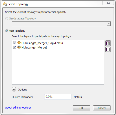 This is the Select Topology dialog box.