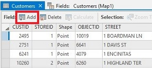 An image of the Add Field option.