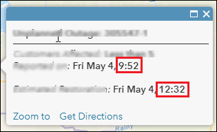The date formatting does not add automatically the AM or PM at the end