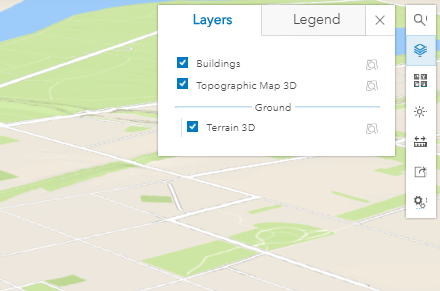 The scene layer is not displayed in Scene Viewer.