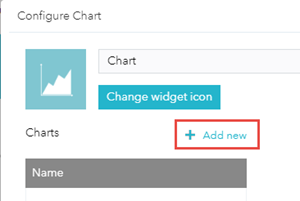 Add a new layer to the chart widget