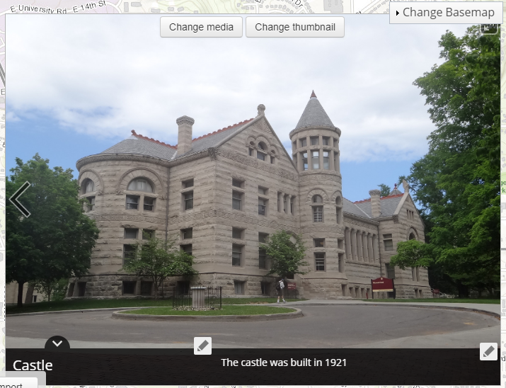 An example of an image inserted in Esri Story Maps.