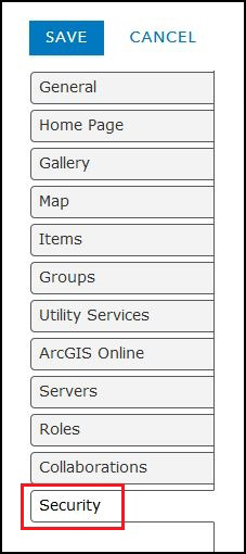 The image of the Edit Settings page.