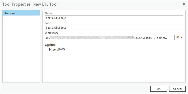 An image of the Tool Properties dialog box.