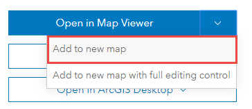 Add to a new map option
