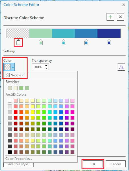 This is the Color Scheme Editor dialog box.