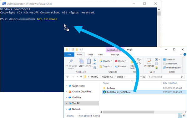 Drag and drop file from Windows File Explorer