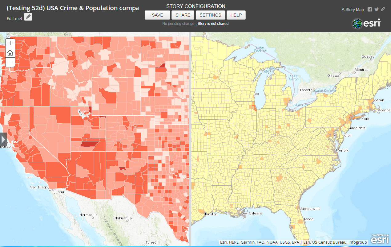 This is the U.S. Crime and Population analysis.