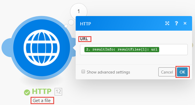 Image of HTTP Get a file module