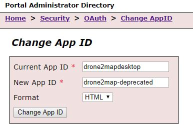 Portal Administrator Directory Settings