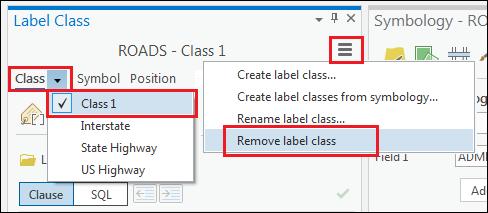 Remove the default class, Class 1