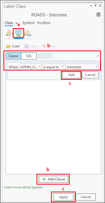Add query in the SQL Query.