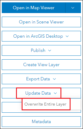 Image of the Click Overwrite Entire Layer window.