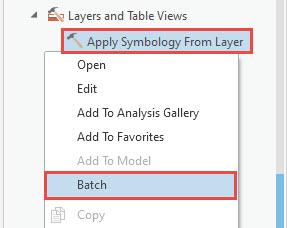 Batch option