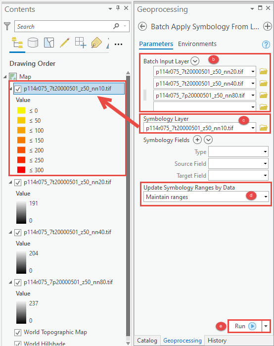 Batch Apply Symbology From Layer pane