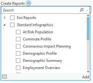 Cuadro de diálogo Crear informes con nuevas plantillas