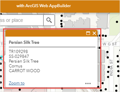 In ArcGIS Web AppBuilder, the web app pop-up displayed the same fields as configured in ArcGIS Online Map Viewer Classic.