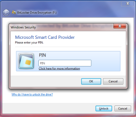 PIN dialog during private key operation