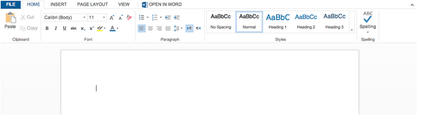 Adding a Microsoft Word doc
