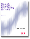 Strategies for Deploying Blade Servers in Existing Data Centers