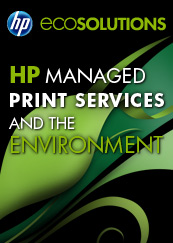 HP Managed Print Services and the Environment