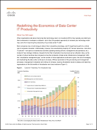 Redefining the Economics of Data Center IT Productivity