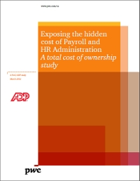 Exposing the hidden cost of Payroll and HR Administration