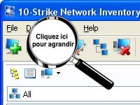Saisie d'écran Network Inventory Explorer - cliquez sur l'image pour l'agrandir
