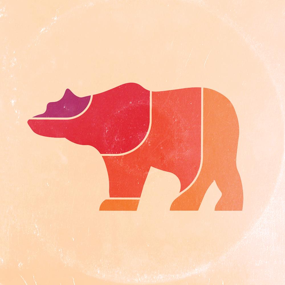Icon logo aged