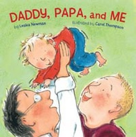 Cover: Daddy, Papa, and Me