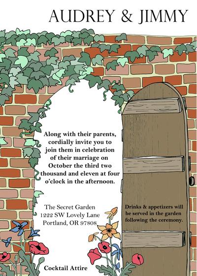 Secret Garden invite