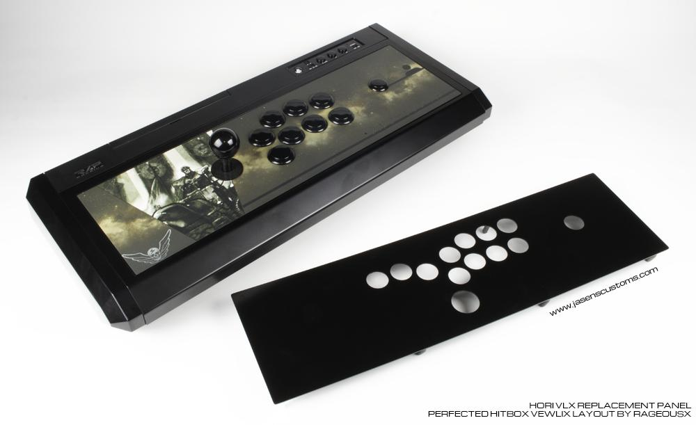 Hori VLX Replacement Panel - Hitbox Layout