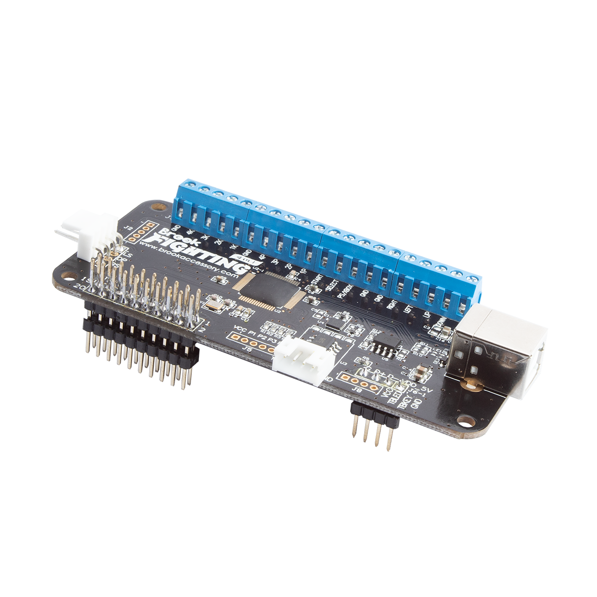 Brook Universal Fighting Board - Pre Soldered for Panzer Fight Stick 3 with RETRO BOARD
