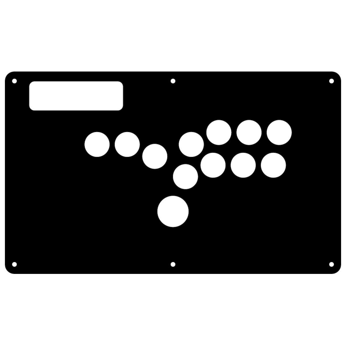 Madcatz TE Replacement Panel Kit - Hitbox