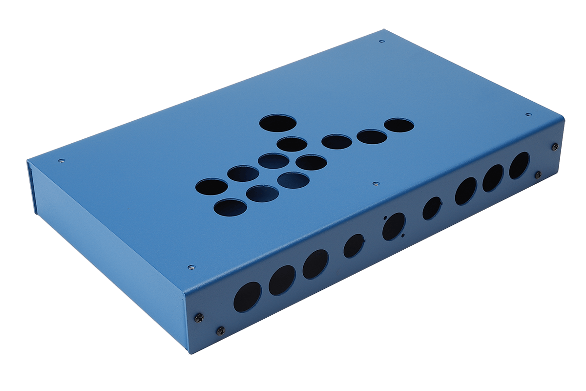 Panzer Fight Stick 3 HitBox - DIY Kit [BLUE SANDTEX]