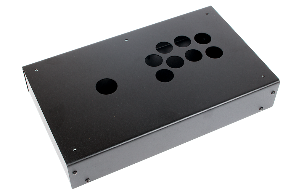 Panzer Fight Stick 3 Korean Edition - DIY Kit [BLACK SANDTEX]