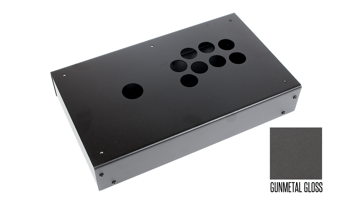 Panzer Fight Stick 3 Korean Edition - DIY Kit [GUNMETAL GLOSS]
