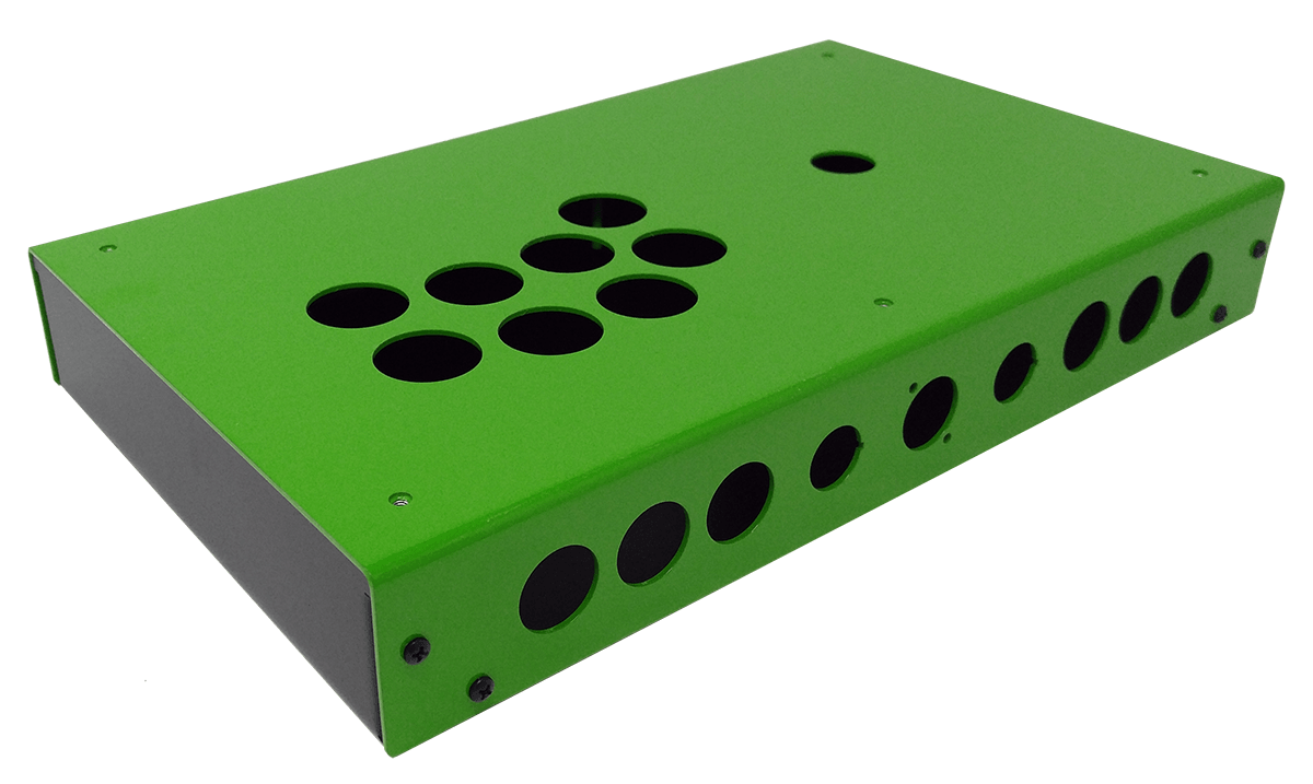 Panzer Fight Stick 3 - DIY Kit [Emerald Two Tone]