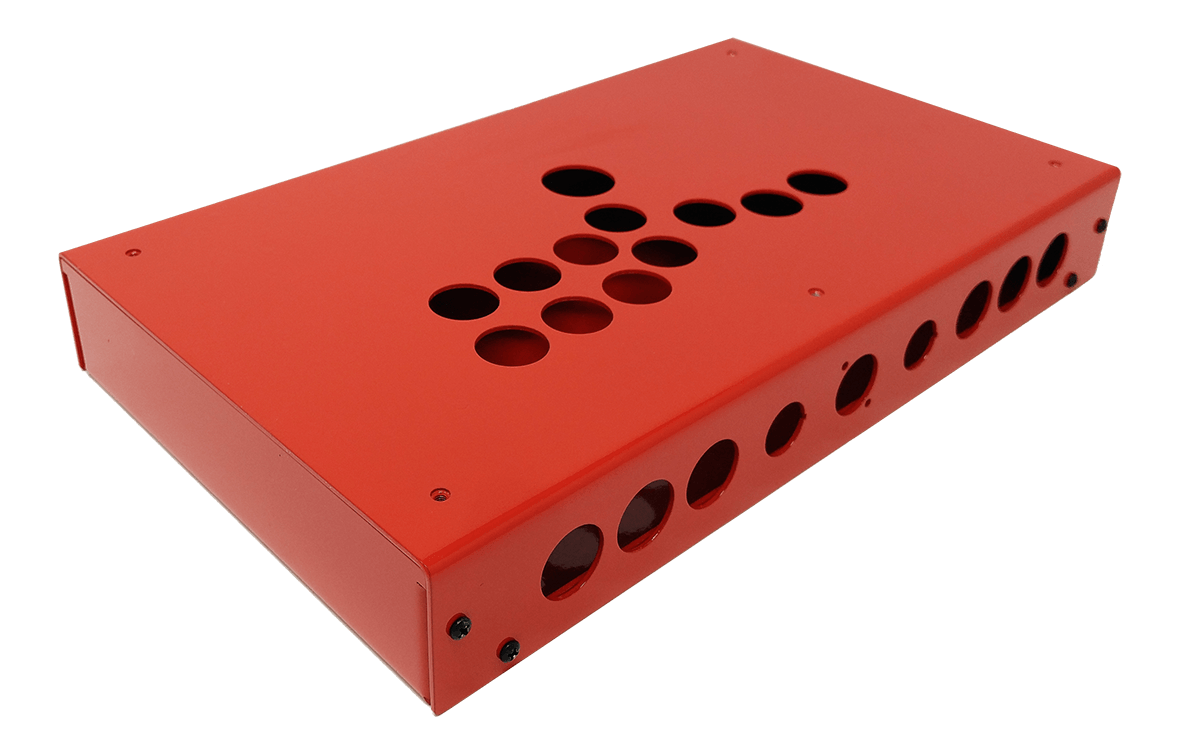 Panzer Fight Stick 3 HitBox - DIY Kit [FIRE RED]