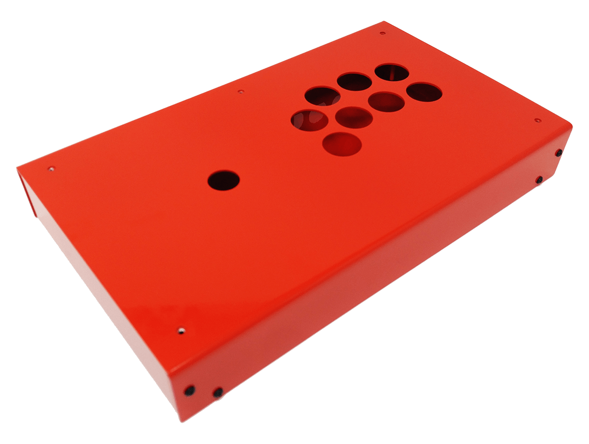 Panzer Fight Stick 3 - DIY Kit [FIRE RED]