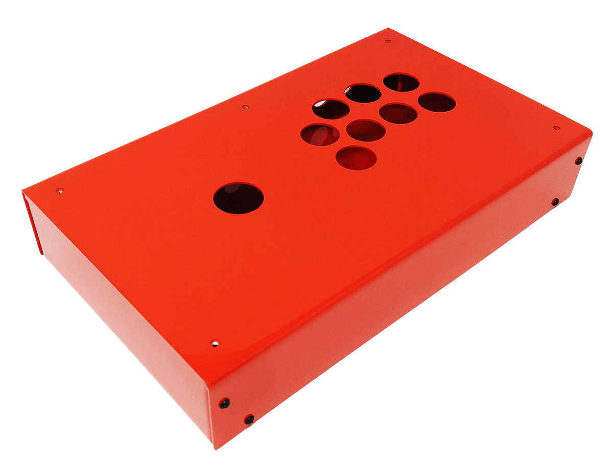 Panzer Fight Stick 3 Korean Edition - DIY Kit [FIRE RED]