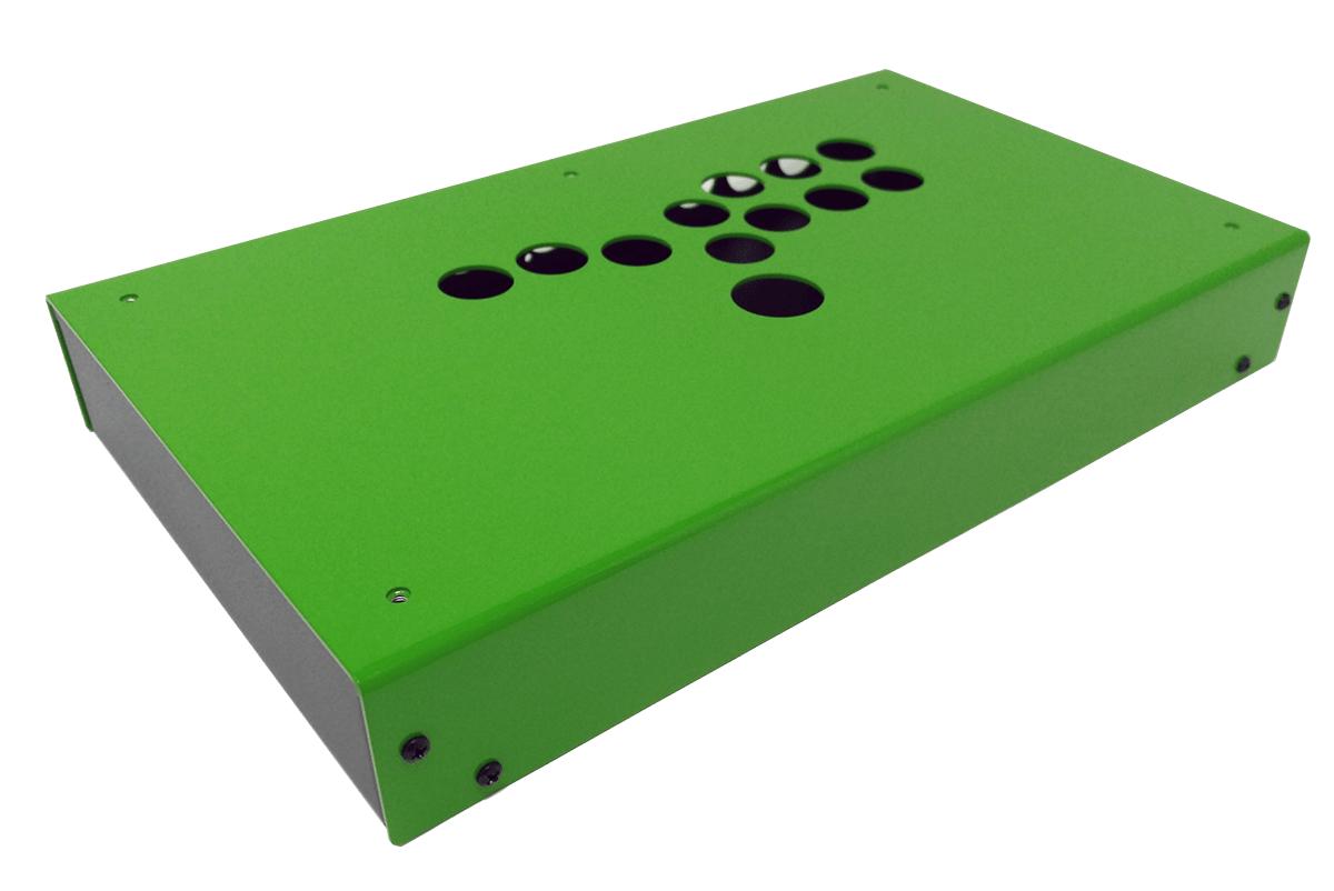Panzer Fight Stick 3 HitBox - DIY Kit [Emerald Two Tone]