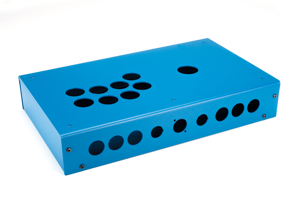 Panzer Fight Stick 3i - DIY Kit [BLUE SANDTEX]