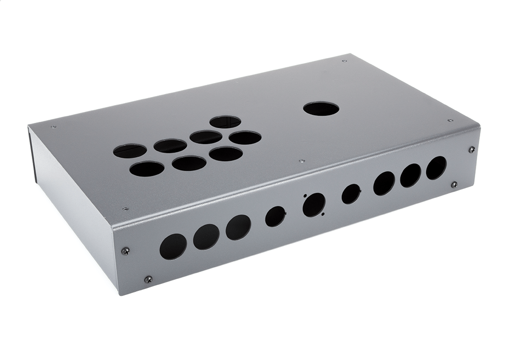 Panzer Fight Stick 3i - DIY Kit [GRAPHITE SANDTEX]