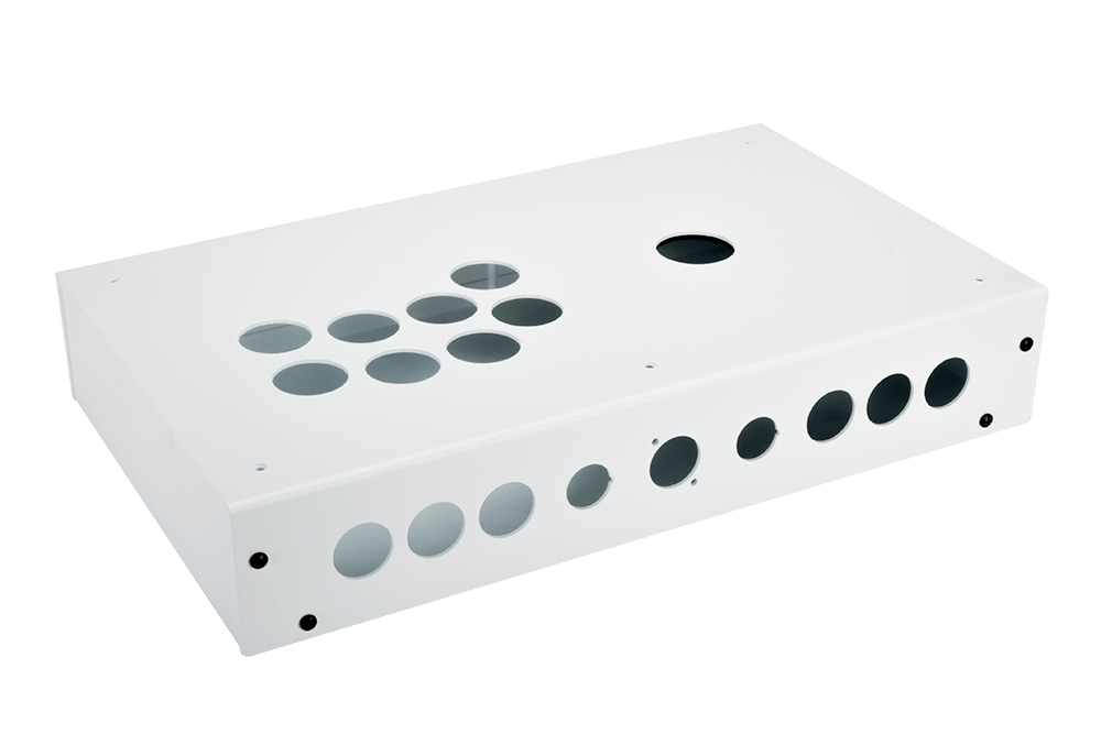 Panzer Fight Stick 3i - DIY Kit [WHITE SANDTEX]