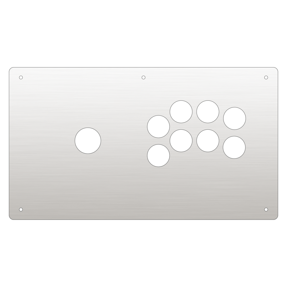 Panzer Fight Stick 3 [KOREAN] Plexi - Clear (8 Buttons)